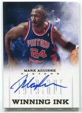 2012-13 Panini Intrique Winning Ink 13 Mark Aguirre Auto 89/299