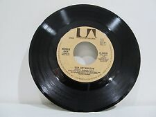 """45 RECORD 7"""" SINGLE - MERRILE RUSH- EASY SOFT AND SLOW"""