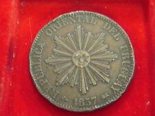 1857 veinte Centesimos Moneda De Uruguay De Mi Colección C97