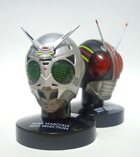 Bandai Masked Kamen Rider Mask Head Mascolle Collection SHADOW MOON Black Figure