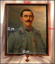 Soldat de la Première Guerre Mondiale & sa Croix de Guerre avec étoile Portrait