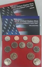 USA US Mint Uncirculated Coin Set 2016 D und P