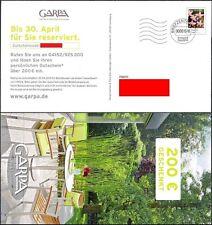 Pluskarte Privatganzsache 2015 Garpa Blumen 28 C Tausendgüldenkraut