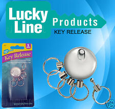 METAL KEYCHAIN INDIVIDUAL QUICK RELEASE -  GREAT SECURITY FOR YOUR KEYS SECURE