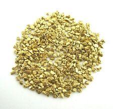 Alaskan Yukon BC  Gold Nuggets  #25 Mesh  1/10 Troy Oz 3.1 Grams or  2 DWT