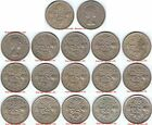 LUCKY Sixpence 1953 - 1967, Choose Date or set, singles supplied in coin wallet