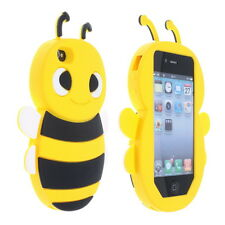 Cover CUSTODIA per IPHONE 4,4S Silicone APE MAIA 3D/Silicon Case HONEY BEE 3D