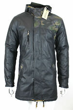 Anerkjendt - Dark Olive Camo Parka - Size M *NEW WITH TAGS* RRP £130
