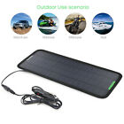 12 Volt 8.5W Powerful Convenient Car Boat Solar Panel Battery Charger 12V uk!