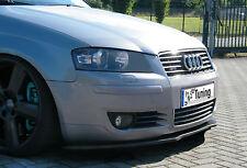 Spoilerschwert Frontspoilerlippe Cuplippe aus ABS für Audi A3 8P mit ABE