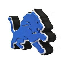 New NFL Detroit Lions 3D Fan Foam Logo Holding / Wall Sign Made in USA