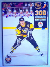 "1992's MARIO LEMIEUX NHL POSTER 300 PIECES PUZZLE, 22""x35"", (3 PIECES MISSING)"
