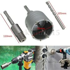 SDS Plus Shank Concrete Cement Stone Wall Hole Saw Drill Bit 65mm With Wrench