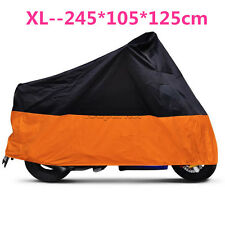 XL Motorcycle Outdoor Weatherproof Cover For Harley Davidson Sportster 883 1200