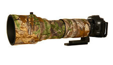 WWS Neoprene Lens Cover Set - Sigma 150-600 f5-6.3 DG OS HSM Sport Realtree Xtra