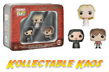 Game Of Thrones - Jon, Tyrion and Daenerys Pocket Pops 3-Pack Tin