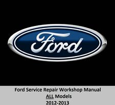 Ford ALL Models 2012-2013 Service Repair Workshop Manual on DVD,,,