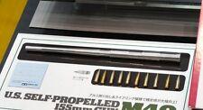 Tamiya 12670 New 1/35 US M40 METAL GUN BARREL w/Brass Parts+Decals f/ TAM35351