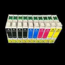 10x Cartouches d'encre imprimante pour epson Stylus S22 SX-125 420W SX125