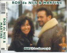 ROB DE NIJS & MARTINE - Duet (Ik hou alleen van jou) CDM 3TR HOLLAND 1989