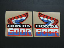 1985 HONDA XR 600 GAS TANK DECAL SET VINTAGE MOTOCROSS AHRMA