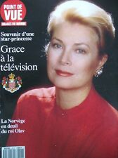 GRACE DE MONACO SOUVENIR D'UNE STAR PRINCESSE POINT DE VUE 1991