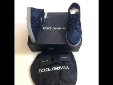 Dolce Gabbana sneakers uomo nuove Numero 42 in pelle e vero pelo
