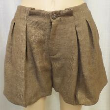 Authentic See By Chloe Pleated Tweed Bubble Shorts NWT Size 10 $375