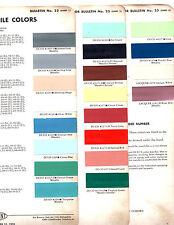 1956 OLDSMOBILE 88 98 SUPER 88 56 PAINT CHIPS 56 DUPONT 2