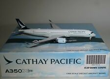 "JC Wings XX4705A Airbus A350-941 Cathay Pacific ""Flaps Down"" B-LRA in 1:400"