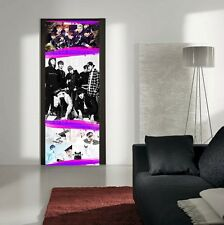 BTS KPOP FABRIC DOOR MURAL HEAVY DUTY WALL HANGING 2MTRS !