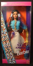 Barbie ~ DOLLS OF THE WORLD - Native American - #11609   NRFB