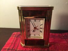 Desk Top Clock with Alarm Lot#0200 Battery Operated