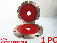 4.5 inch Diamond Thick blade Stone Concrete Brick Tuck Point Disc Grinding Wheel
