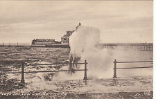Rough Sea & Pier, East End, MORECAMBE, Lancashire