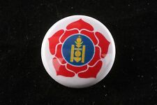 """Mongolia Peoples Party Revolutionary Communist Pin Badge Button America Labor 1"""""""