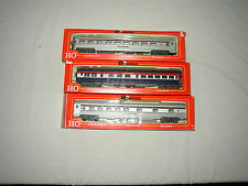 RIVAROSSI HO SCALE PASSENGER CARS LOT #T-15