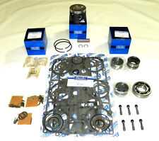 """WSM Outboard Mercury 75-90 Hp 3 Cylinder 3.5"""" Bore Rebuild Kit 2704-826191A4"""