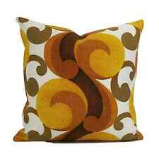 Original Vintage 70s Psychedelic Fabric Cushion Cover