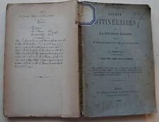 BERNARD F.: Carnet d'itinéraires de la division d'Alger rédigé à l'état-Major d