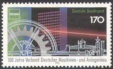 Alemania 1992 motores de maquinaria de ingeniería///Laser/ciencia/Engranes 1v (n29523)