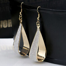1 Pair Hollow Drop Earrings Charm Comely Beautiful Party Wedding Jewelry New