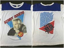 "True Vintage 1985 Kenny Rogers Live In Concert ""The '85 Tour"" Country T-Shirt XL"