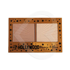 W7 Cosmetics Hollywood Bronze & Glow - Bronzer & Highlighter Duo Bronzing Powder