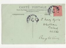 Miss J Money Kyrle Whetham Calne Wiltshire 1906 335a