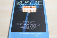 121598) Oldsmobile Toronado 98 88 - Übergröße - Prospekt 08/1986