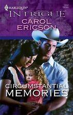 Harlequin Circumstantial Memories Carol Ericson paperback book new