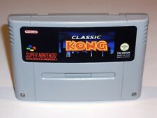 CLASSIC KONG COMPLETE - PAL IN ENGLISH GAME - SUPER NINTENDO SNES - DONKEY KONG