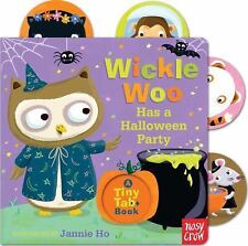 Wickle Woo Has a Halloween Party Tiny Tab Books