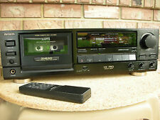 Aiwa AD-F810 Remote Control There head Cassette Deck